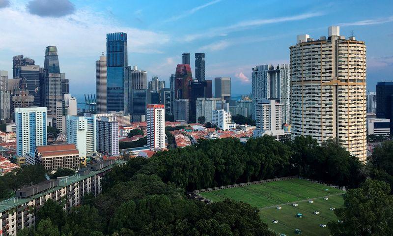 "Singapūro vaizdas. Woo Yiming  (""Reuters"" / ""Scanpix"") nuotr."
