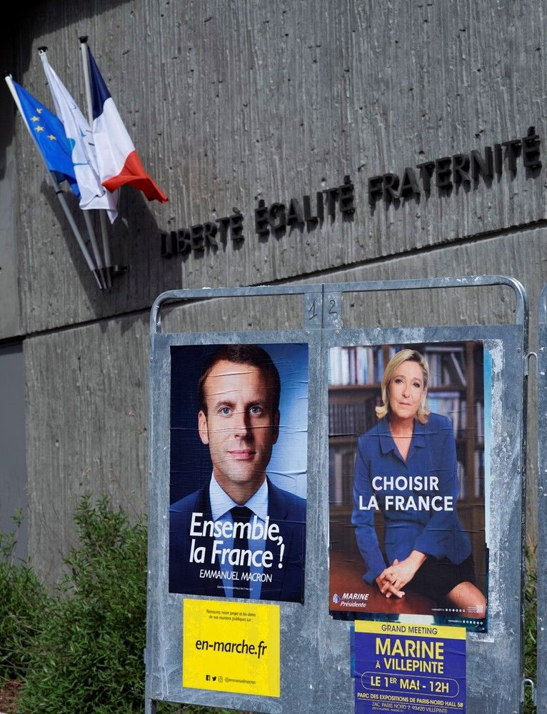 Prancūzų smūgis politiniam elitui