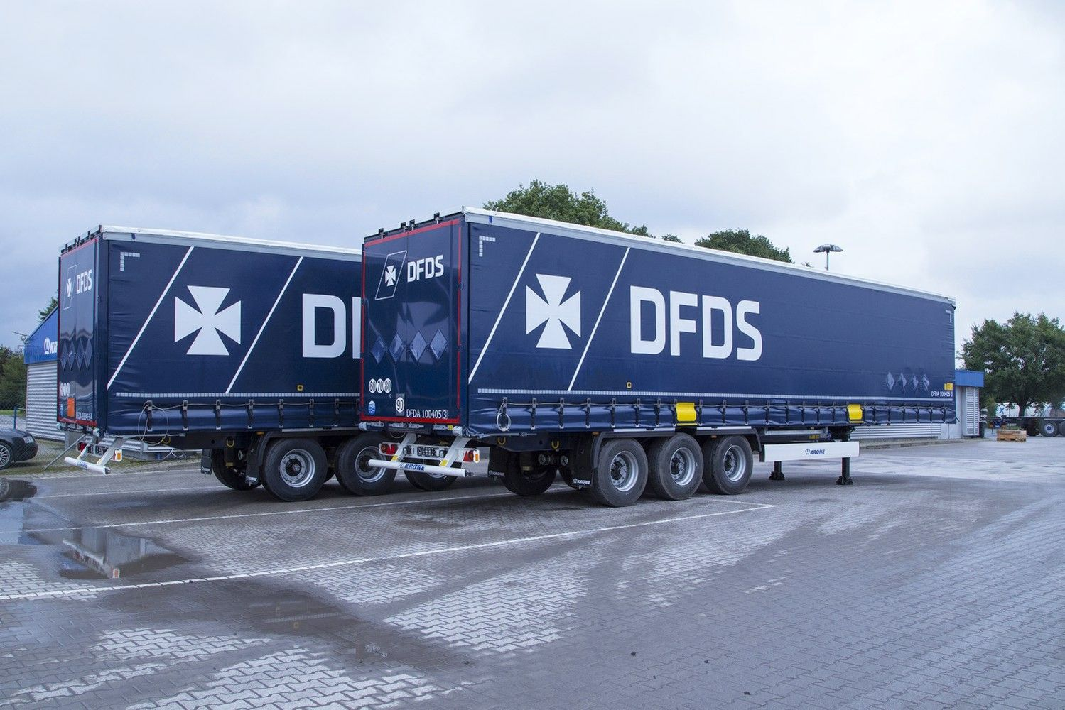 DFDS į priekabų ir konteinerių parko plėtrą investavo 22 mln. Eur