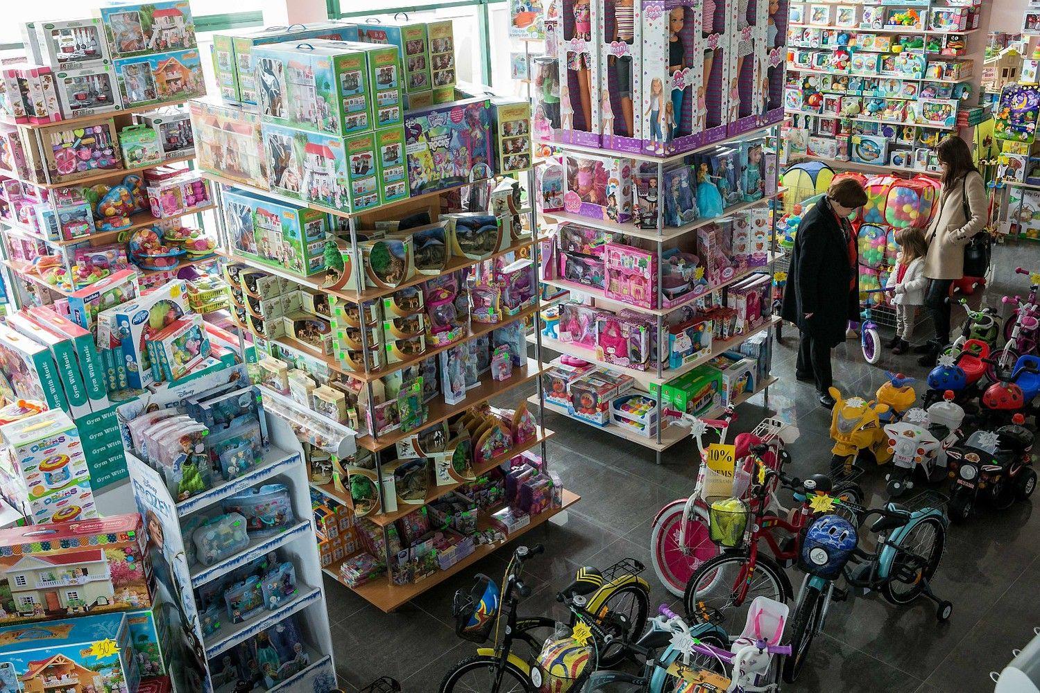 Viskas, ko reikia vaikams, parduotuvėje Panevėžyje netilpo – sukūrė jų tinklą