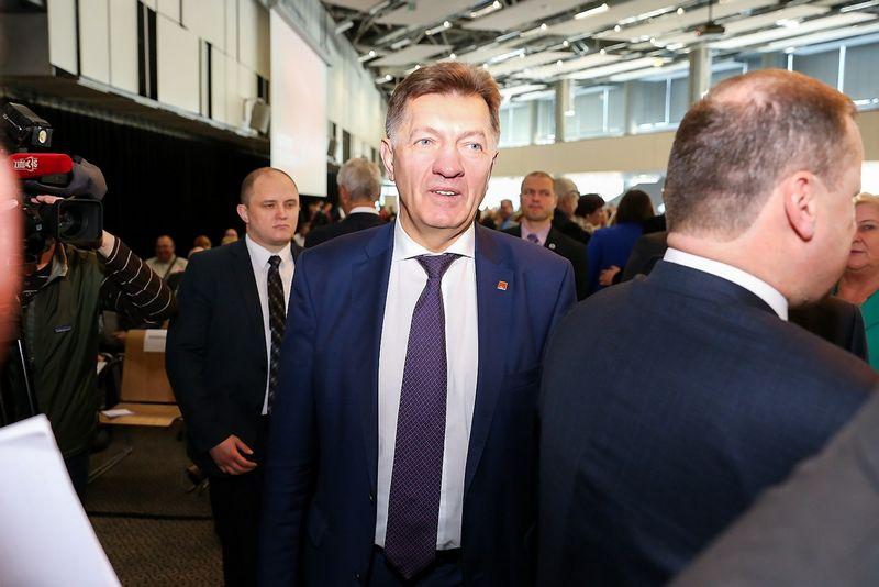 """35-asis Lietuvos socialdemokratų partijos suvažiavimas Žygimanto Gedvilos (""""15min."""") nuotr."""