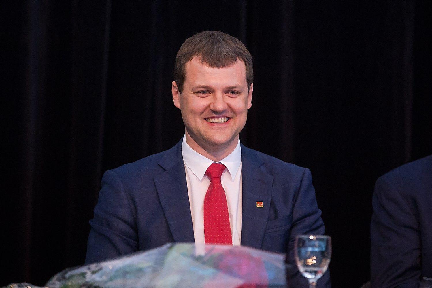 Gintautas Paluckas stojo prie socialdemokratų partijos vairo