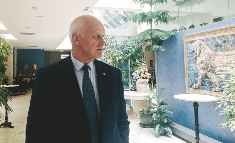 """Valdas Trinkūnas,  prekės ženklą """"SPA Vilnius"""" valdančios UAB """"Raminora"""" generalinis direktorius, savininkas: """"Mūsų ribos – iki 9 mln. Eur apyvarta. Užimtumą dar galėtume padidinti kokiais 5%, nes SPA versle 80% yra riba, kai dar galima užtikrinti paslaugų kokybę."""" Eglės Markevičienės (VŽ) nuotr."""