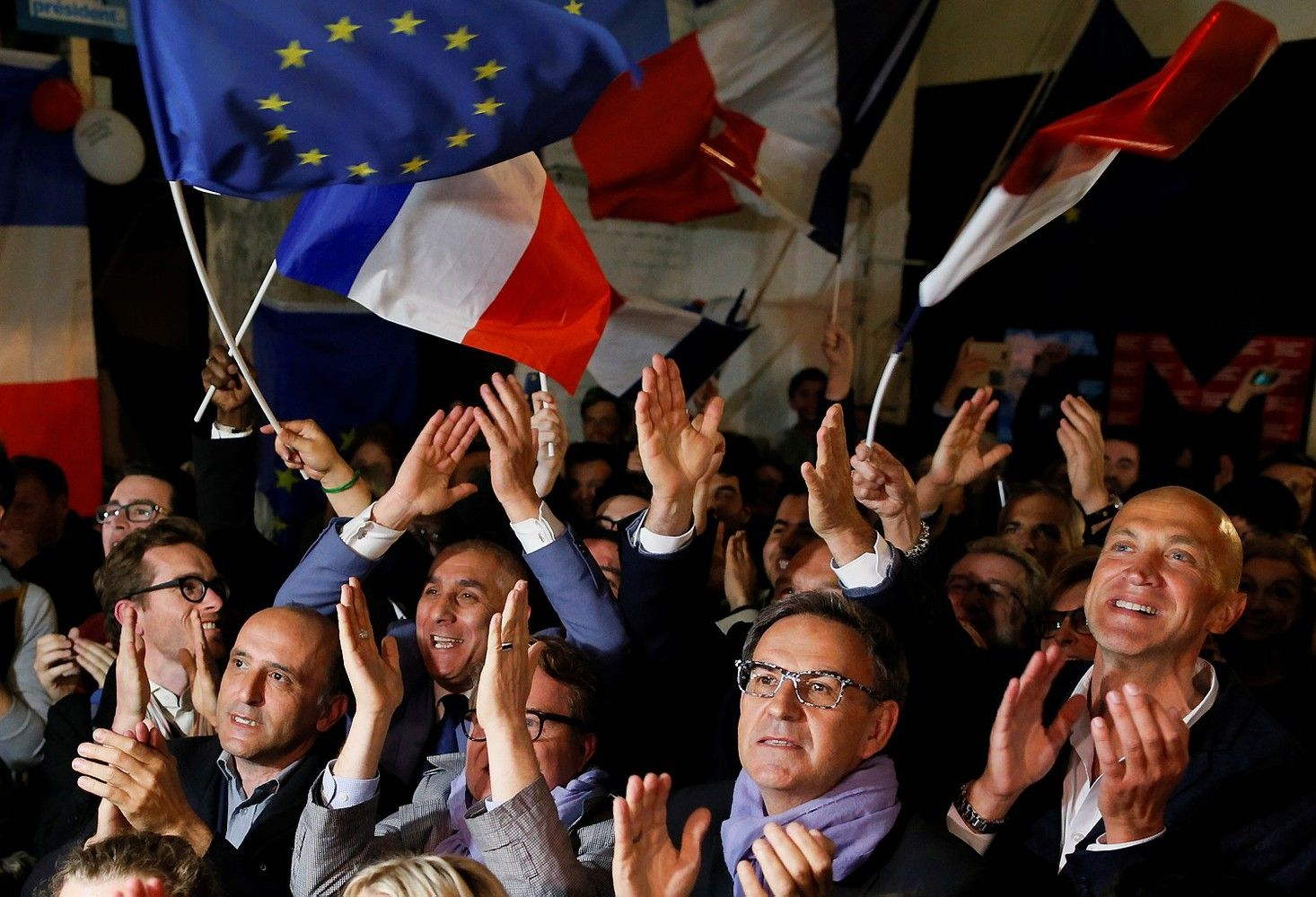 Už Macroną balsavo 66,06%rinkėjų