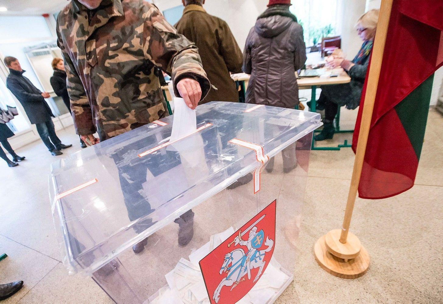 Lietuvoje rinkimai artėja finišo link, aktyvumas nedidelis