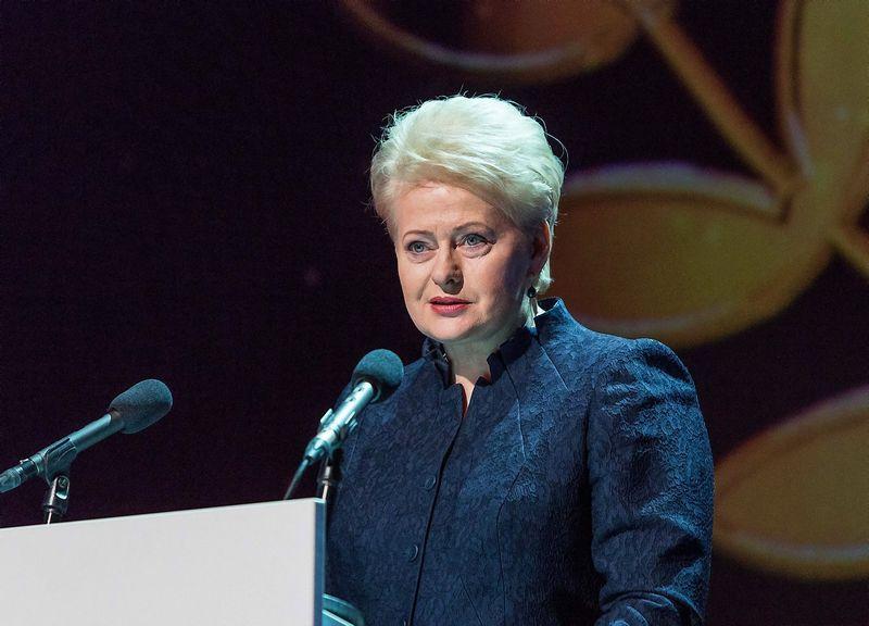 Dalia Grybauskaitė. Laimos Penekaitės nuotr.