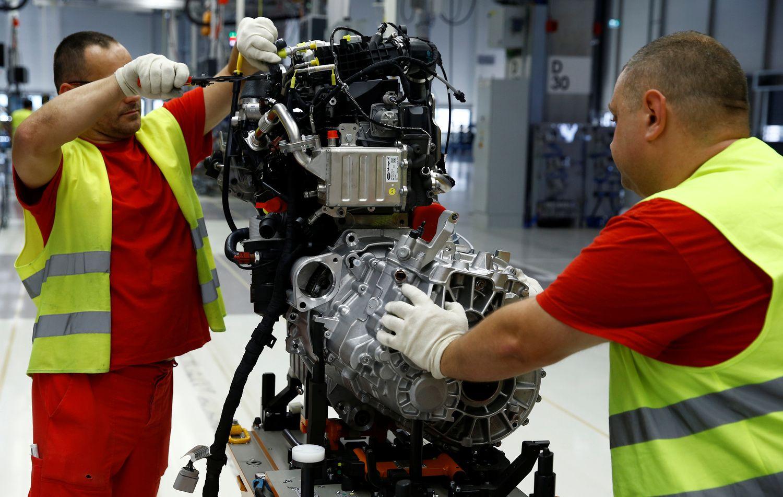 Vokietijos pramonės sektoriaus apsukos didėja