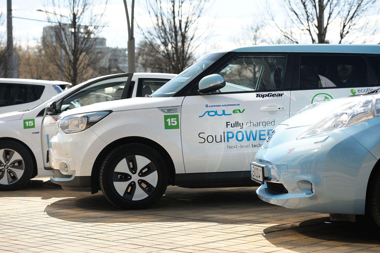 Elektromobilių lenktynės: nuo sostinės iki pajūrio – per 4 valandas