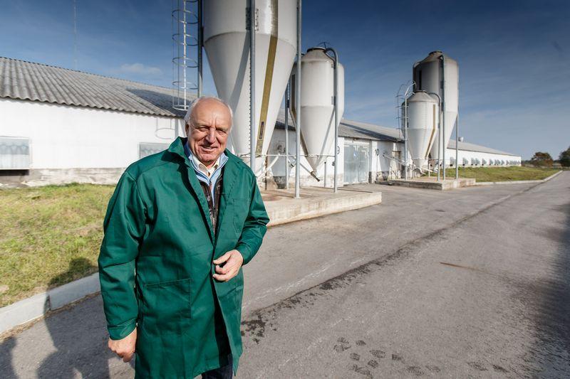 """Jonas Jagminas, žemės ūkio kooperatyvo """"Agroaves Group"""" valdybos pirmininkas, paukštynų savininkas Vladimiro Ivanovo (VŽ) nuotr."""