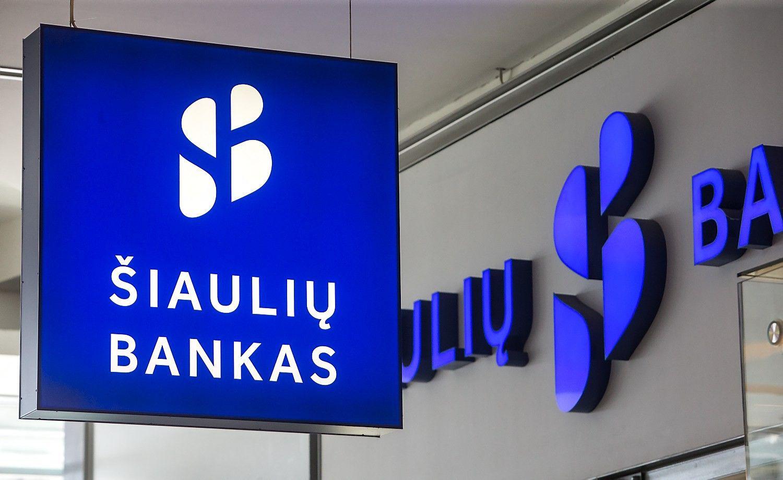 Šiaulių banko grynasis pelnas – 15,2 mln. Eur
