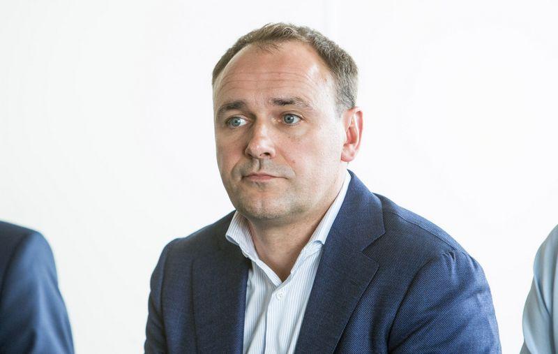 """Linas Bulzgys, AB """"Auga group"""" generalinis direktorius. Juditos Grigelytės (VŽ) nuotr."""