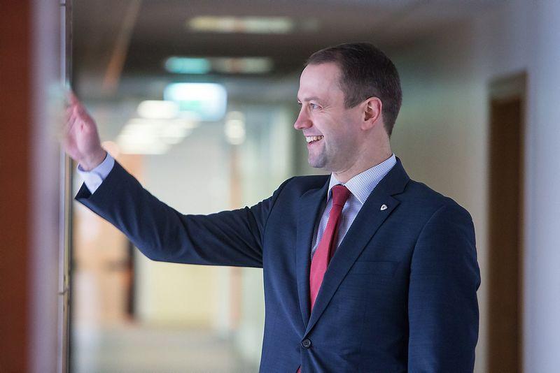 """Dalius Misiūnas, UAB """"Lietuvos energija"""" vadovas. Juditos Grigelytės (VŽ) nuotr."""