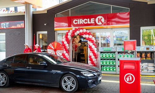 """Circle K"" prisistatė"