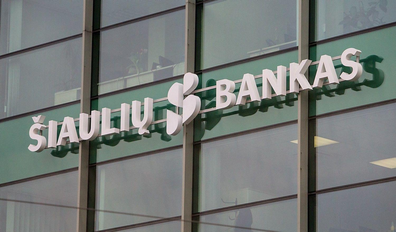 Šiaulių banko rezultatai: pereinama į reguliaraus darbo fazę