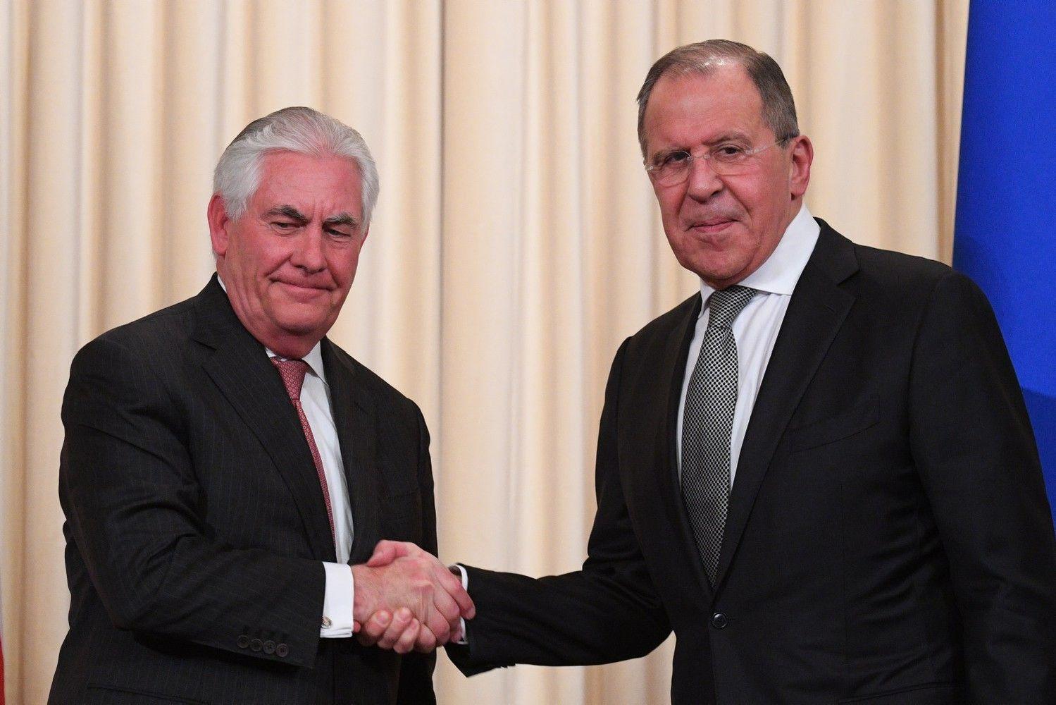 Lavrovas vyksta į Vašingtoną, susitiks ir su Trumpu