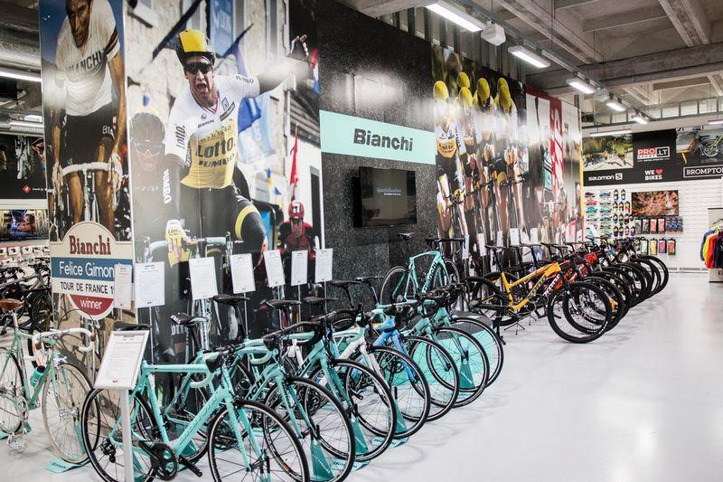 PROSPORT.LT parduotuvėse kokybišką dviratį siūloma rinktis net iš 14 skirtingų kategorijų.