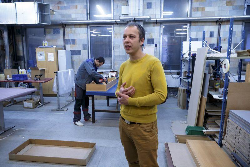 """Eimantas Pavilonis, Norvegijos kapitalo baldų gamintojos """"Scan Sorlie Baltic"""" direktorius: """"Didžiausia problema – darbuotojų trūkumas."""" Vladimiro Ivanovo (VŽ) nuotr."""