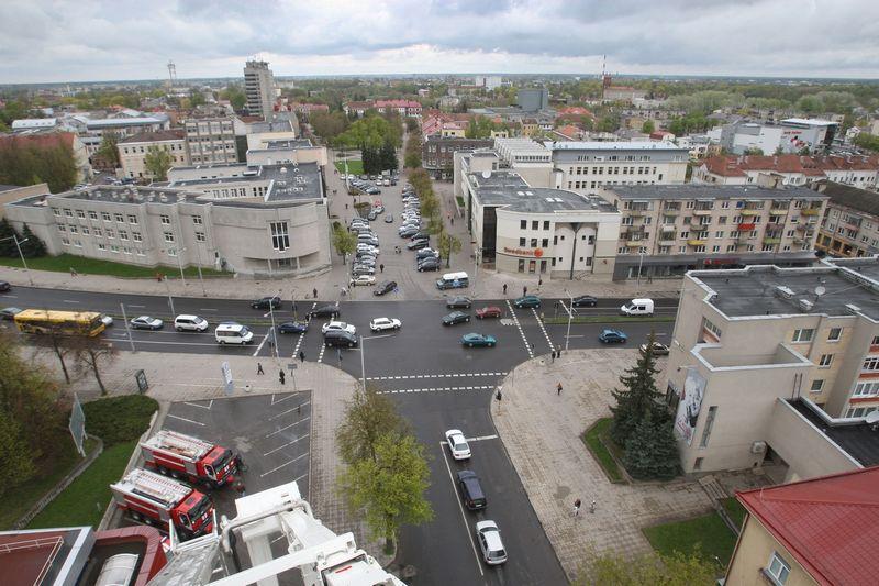 """Svarus Panevėžio privalumas – patogi geografinė padėtis. Miestas yra pusiaukelėje tarp Rygos ir Vilniaus, jį kerta pagrindiniai šalies keliai ir automagistralė """"Via Baltica"""".  Gintaro Lukoševičiaus nuotr."""