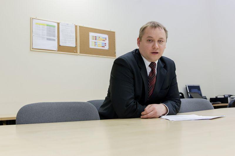 """Dr. Mantas Valužis, UAB """"Finansavimo sprendimų centras"""" projektų vadovas Vladimiro Ivanovo (VŽ) nuotr."""