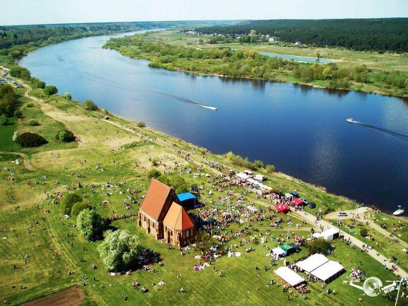 """Gegužės 13 d. Zapyškyje vyks Aitvarų festivalis """"Tarp žemės ir dangaus"""". Rengėjų nuotr."""