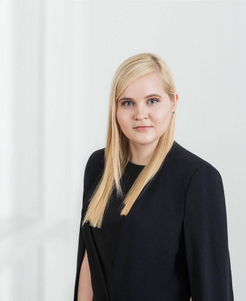 """Aurelija Balčiūnė, advokatų kontoros """"Cobalt"""" bankininkystės ir finansų srities teisininkė. Įmonės nuotr."""