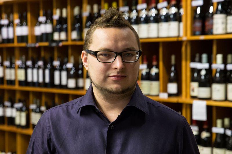 Petras Jarašūnas, Vyno klubo vyno ekspertas. Vladimiro Ivanovo (VŽ) nuotr.