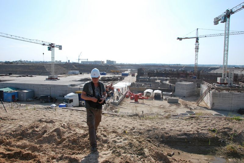"""Prieš ketverius metus """"Rosatom"""" pareigūnai žiniasklaidai sakė, esą Baltijos atominės elektrinės statybvietėje vien gelžbetonio išpilta už beveik 1 mlrd. dolerių. Vėliau jos statyba buvo užkonservuota, nes esą nerasta rinkų, kur parduoti pagamintą elektros energiją. Ryto Staselio nuotr."""