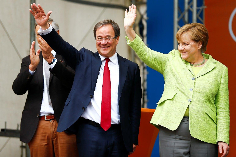 Džiuginantis signalas Angelai Merkel