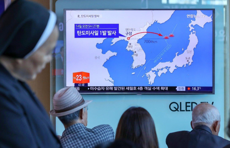 Šiaurės Korėja toliau erzina