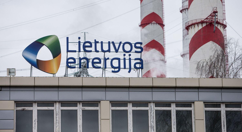 """""""Lietuvos energija"""" pirmą ketvirtį uždirbo 22 mln. Eur"""