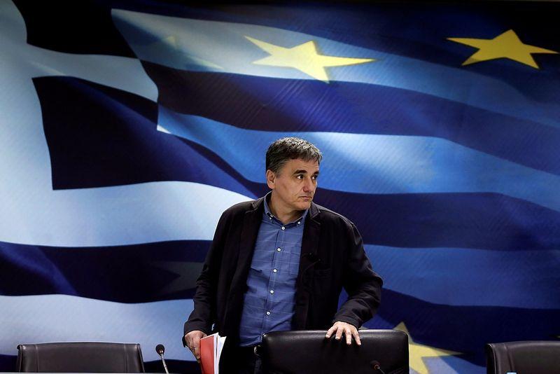 Graikijos finansų ministras Euclidas Tsakalotos. Alkis Konstantinidis (Reuters / Scanpix) nuotr.