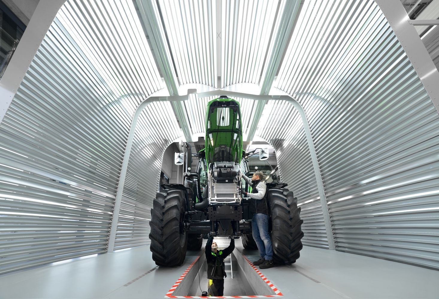 """Deutz-Fahr"" į gamyklos kompleksą investavo 90 mln. Eur"