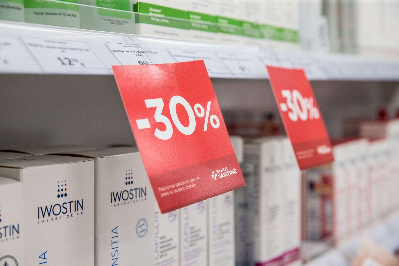 Pokyčiai farmacijoje: gamintojai spaudžiami mažinti antkainius