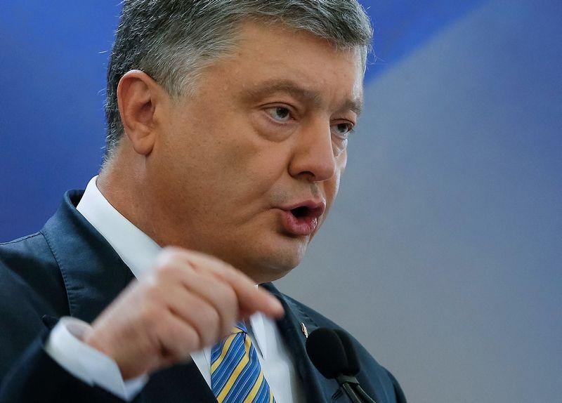 """Petro Porošenka, Ukrainos prezidentas. Valentino Ogirenkos (""""Reuters"""" / """"Scanpix"""") nuotr."""