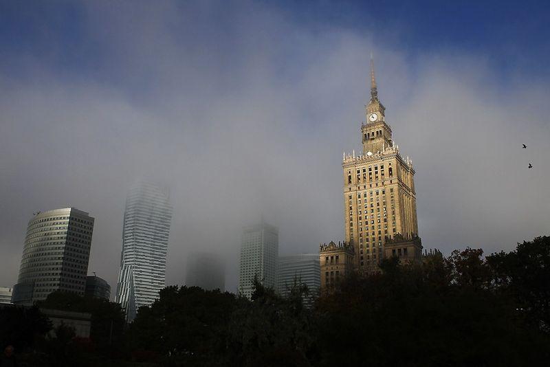 "Varšuvos centras. Kacpero Pempelo (""Reuters"" / ""Scanpix"") nuotr."