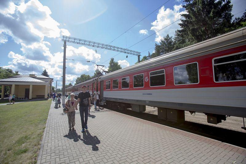 """""""Lietuvos geležinkeliai"""" įvairiems paramos projektams pernai paskyrė trečdalį savo pelno, t.y. beveik milijoną eurų. Vladimiro Ivanovo (VŽ) nuotr."""