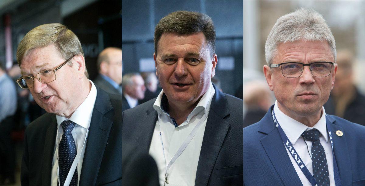"""""""Linava"""" naują prezidentą renkasi iš trijų"""