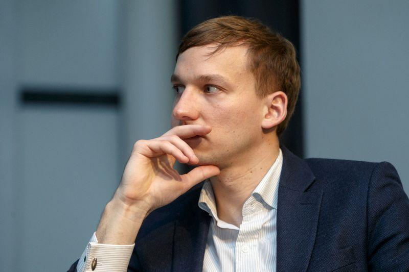 """Vytautas Zabulis, """"Savy"""" tarpusavio skolinimo platformą valdančios UAB """"Bendras finansavimas vadovas. Vladimiro Ivanovo (VŽ) nuotr."""