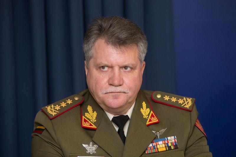 Jonas Vytautas Žukas, Lietuvos kariuomenės vadas. Vladimiro Ivanovo (VŽ) nuotr.