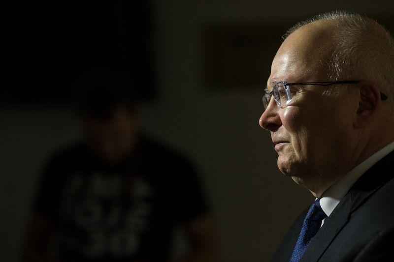 Zenonas Vaigauskas, Vyriausiosios rinkimų komisijos pirmininkas. Vladimiro Ivanovo (VŽ) nuotr.