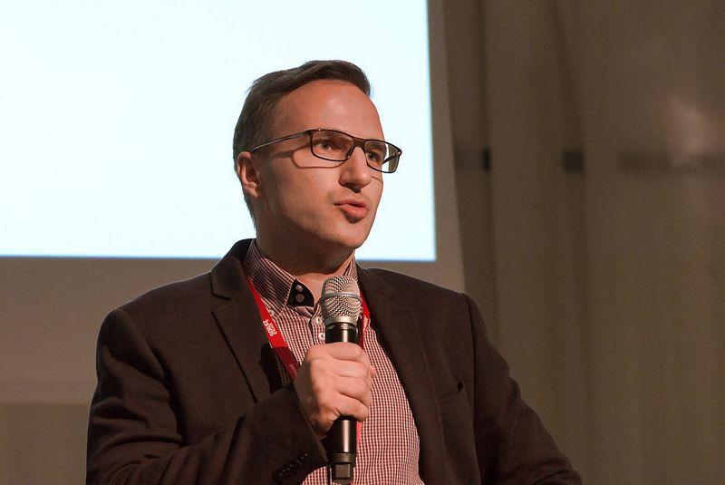 Linas Šiautkulis, LiMA valdybos pirmininkas. Aušros Barysienės nuotr.