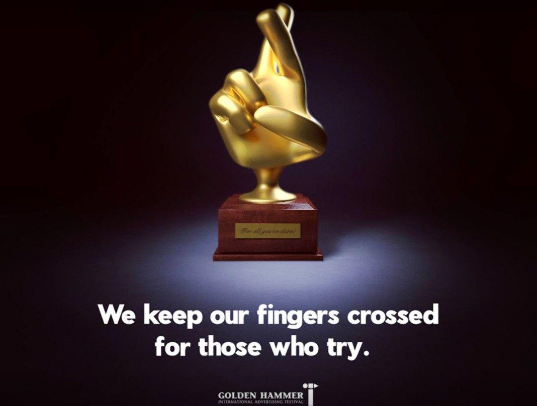 """Reklamos agentūros savo darbus matuojasi """"Golden Hammer"""" festivalyje"""