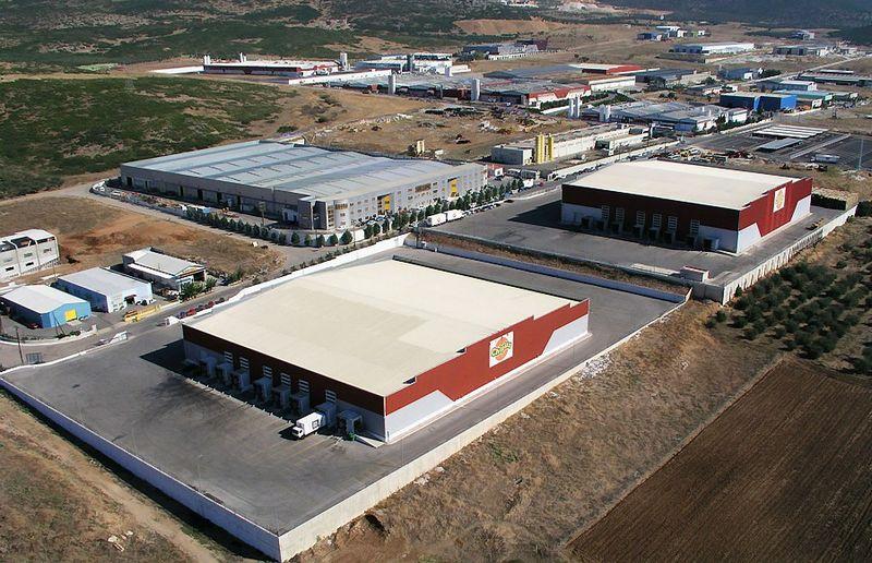 """Graikijos gamintojo """"Chipita"""" gamybos bazė."""