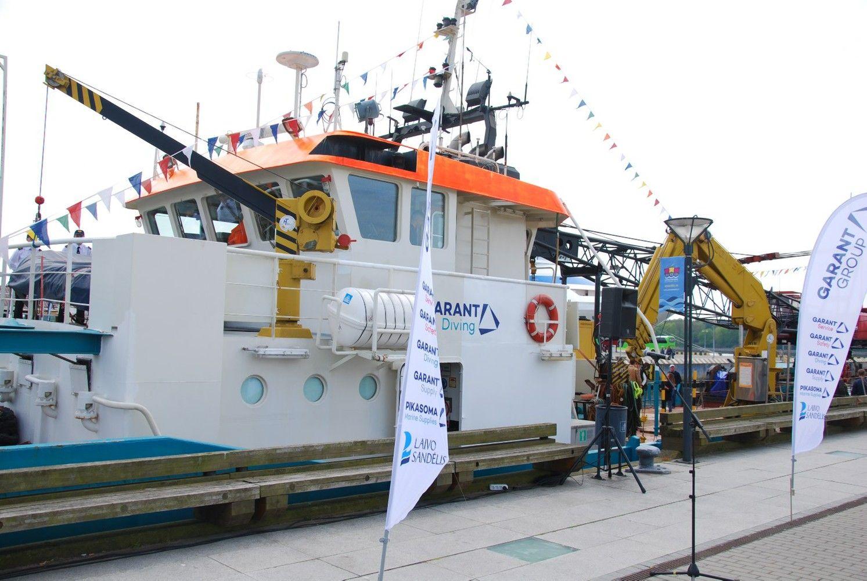 """""""Garant Group"""" pirkinys – laivas specializuotiems darbams"""