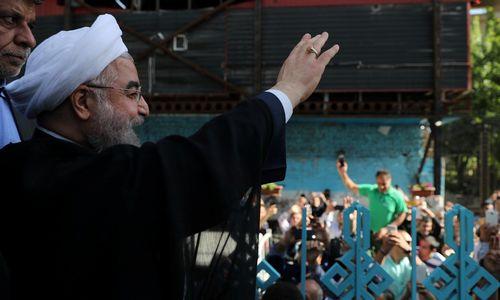 Irane nesunkiai nugalėjo nuosaikumas