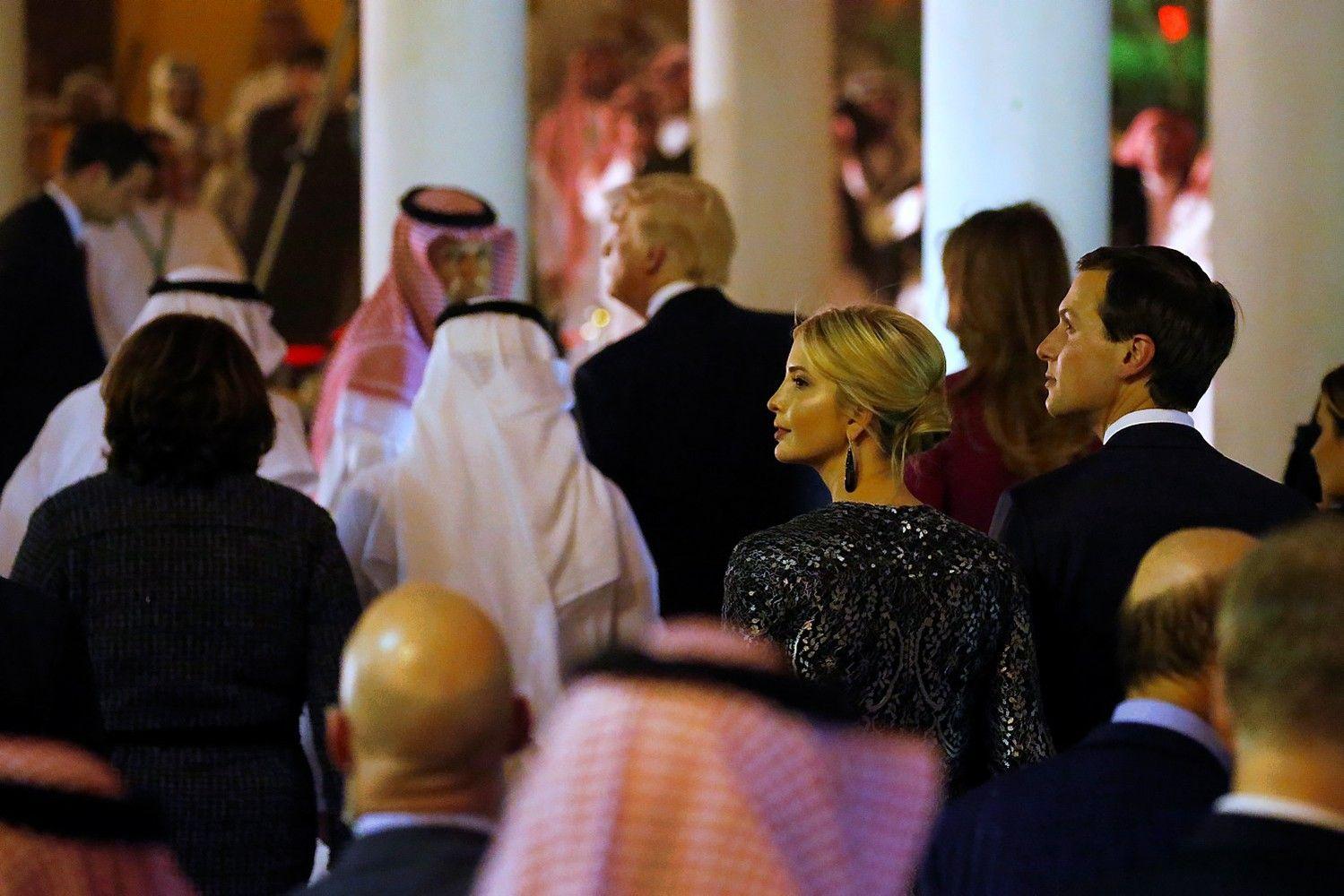 Trumpas su dukra Ivanka Saudo Arabijoje pasiekė savo