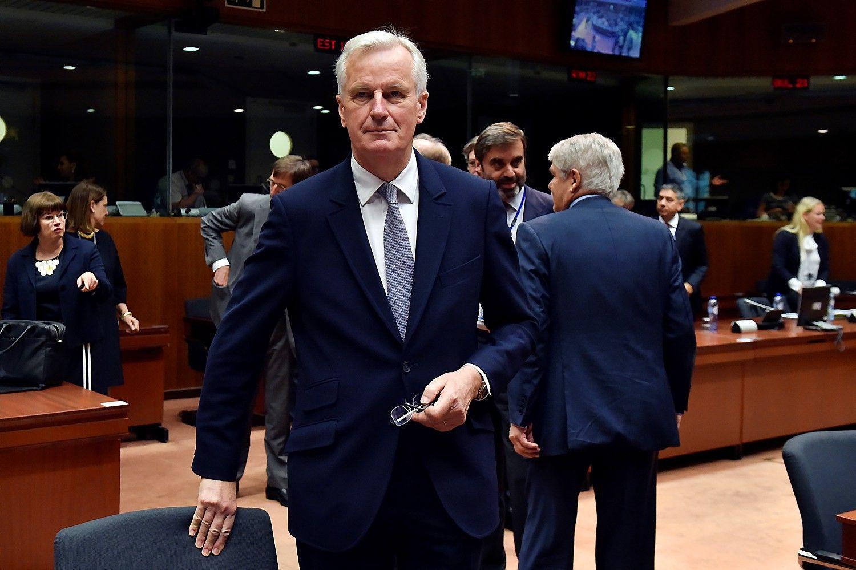 "ES suteikė ""Brexit"" derybų mandatą Barnier"
