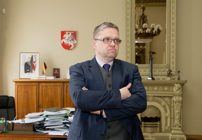 Vasiliauskas: reikėtų ruošti aplinką ECB komunikacijos pasikeitimui