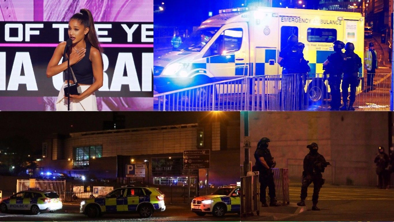 Išpuolis koncerte Mančesteryje: per sprogimą žuvo 19 žmonių