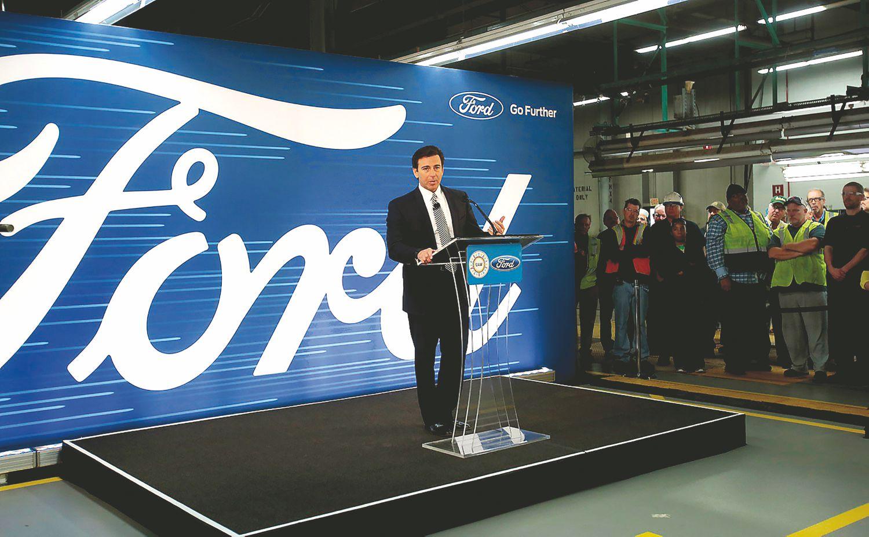 """""""Ford"""" mėgins pavyti technologijų traukinį"""